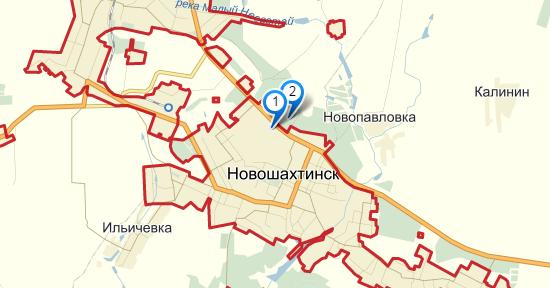 Новошахтинск где находится